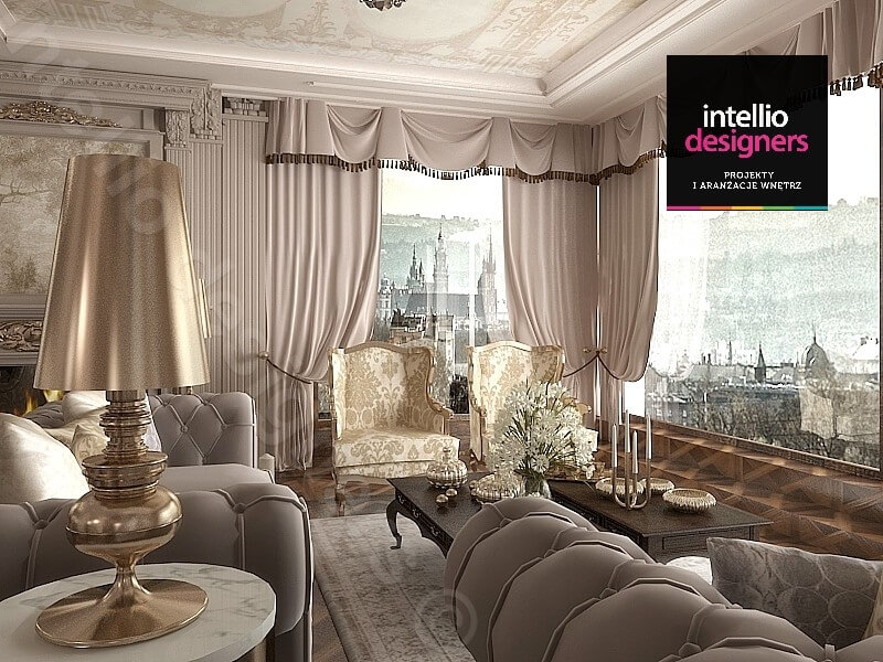 ekskluzywne apartamenty Intellio Designers
